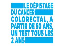 Mars Bleu: campagne de dépistage du cancer colorectal