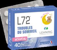 Lehning L72 Comprimés Orodispersibles Plq Pvc/pvdc/alu/40 à Auterive