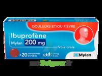 IBUPROFENE MYLAN 200 mg, comprimé enrobé à Auterive