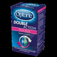 Optone Double Action Solution Oculaire Yeux Secs Fl/10ml à Auterive