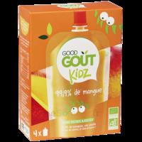 Good Goût Alimentation Infantile Mangue 4 Gourdes/90g à Auterive