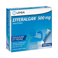 Efferalgan 500 mg Glé en sachet Sach/16 à Auterive