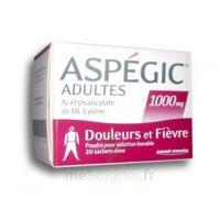 ASPEGIC ADULTES 1000 mg, poudre pour solution buvable en sachet-dose 20 à Auterive
