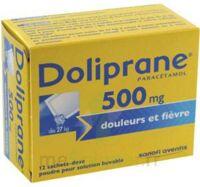 Doliprane 500 Mg Poudre Pour Solution Buvable En Sachet-dose B/12 à Auterive