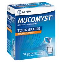 Mucomyst 200 Mg Poudre Pour Solution Buvable En Sachet B/18 à Auterive