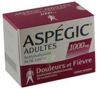 Aspegic Adultes 1000 Mg, Poudre Pour Solution Buvable En Sachet-dose 15 à Auterive