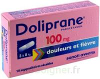 Doliprane 100 Mg Suppositoires Sécables 2plq/5 (10) à Auterive