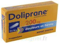 DOLIPRANE 200 mg Suppositoires 2Plq/5 (10) à Auterive