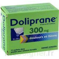 DOLIPRANE 300 mg Poudre pour solution buvable en sachet-dose B/12 à Auterive