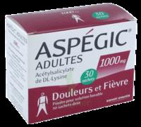 ASPEGIC ADULTES 1000 mg, poudre pour solution buvable en sachet-dose 30 à Auterive