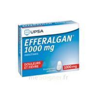 Efferalgan 1000 mg Comprimés pelliculés Plq/8 à Auterive