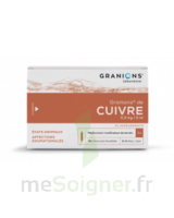 Granions De Cuivre 0,3 Mg/2 Ml S Buv 30amp/2ml à Auterive