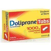 DOLIPRANETABS 1000 mg Comprimés pelliculés Plq/8 à Auterive