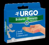 URGO BRULURES-BLESSURES PETIT FORMAT x 6 à Auterive