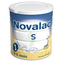 Novalac S 1 Lait En Poudre Satiétant 1er âge B/800g à Auterive
