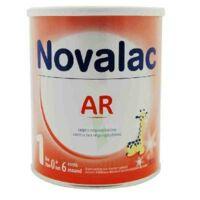Novalac Ar 0-6 Mois Lait En Poudre Antirégurgitation B/800g à Auterive