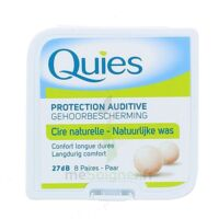 QUIES PROTECTION AUDITIVE CIRE NATURELLE 8 PAIRES à Auterive