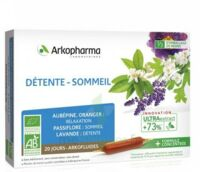 Arkofluide Bio Ultraextract Solution Buvable Détente Sommeil 20 Ampoules/10ml à Auterive