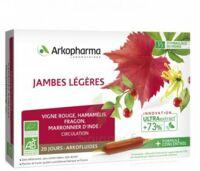 Arkofluide Bio Ultraextract Solution buvable jambes légères 20 Ampoules/10ml à Auterive