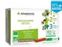 Arkofluide Bio Ultraextract Coffret Programme Détox 3x10 Ampoules/10ml à Auterive