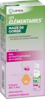 Les Elementaires Spray Buccal Maux De Gorge Enfant Fl/20ml à Auterive
