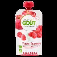 Good Goût Alimentation Infantile Pomme Framboise Gourde/120g à Auterive