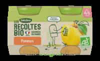 Blédina Les Récoltes Bio Pommes De Nouvelle Aquitaine 2 Pots/130g à Auterive