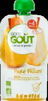 Good Goût Alimentation infantile poire williams Gourde/120g à Auterive