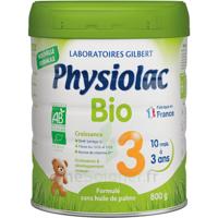 Physiolac Bio Lait 3éme Age 800g à Auterive