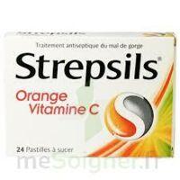 STREPSILS ORANGE VITAMINE C, pastille à Auterive