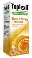 TOPLEXIL 0,33 mg/ml sans sucre solution buvable 150ml à Auterive