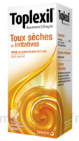 TOPLEXIL 0,33 mg/ml, sirop 150ml à Auterive
