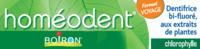 Boiron Homéodent Soin Complet Dents Et Gencives Pâte Dentifrice Chlorophylle Format Voyage T/25ml à Auterive