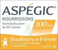 ASPEGIC NOURRISSONS 100 mg, poudre pour solution buvable en sachet-dose à Auterive