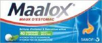 MAALOX MAUX D'ESTOMAC HYDROXYDE D'ALUMINIUM/HYDROXYDE DE MAGNESIUM 400 mg/400 mg, comprimé à croquer à Auterive