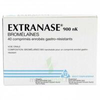 Extranase 900 Nk, Comprimé Enrobé Gastro-résistant à Auterive