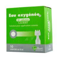 Eau Oxygenee 10 Volumes Gilbert, Solution Pour Application Cutanée En Récipient Unidose à Auterive