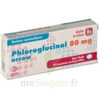 PHLOROGLUCINOL ARROW 80 mg Cpr orodisp Plq/20 à Auterive