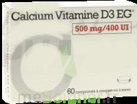 Calcium Vitamine D3 Eg 500 Mg/400 Ui, Comprimé à Croquer Ou à Sucer à Auterive