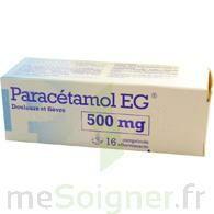 Paracetamol Eg 500 Mg, Comprimé à Auterive