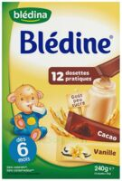 Blédine Vanille/Cacao 12 dosettes de 20g à Auterive