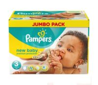 PAMPERS COUCHES NEW BABY 5-9KG 99 COUCHES à Auterive