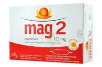 MAG 2 SANS SUCRE 122 mg, solution buvable en ampoule édulcoré à la saccharine sodique à Auterive