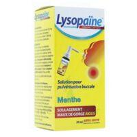 LYSOPAÏNE AMBROXOL 17,86 mg/ml Solution pour pulvérisation buccale maux de gorge sans sucre menthe Fl/20ml à Auterive