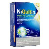 Niquitin 2 Mg Gom à Mâcher Médic Menthe Glaciale Sans Sucre Plq Pvc/pvdc/alu/30 à Auterive