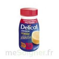 Delical Boisson Hp Hc Concentree Nutriment Vanille 4bouteilles/200ml à Auterive