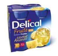 Delical Boisson Fruitee Nutriment Ananas 4bouteilles/200ml à Auterive