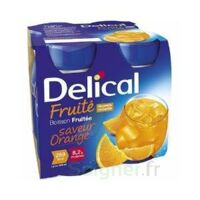 Delical Boisson Fruitee Nutriment Orange 4bouteilles/200ml à Auterive