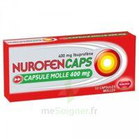Nurofencaps 400 Mg Caps Molle Plq/10 à Auterive