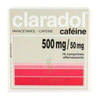 Claradol Cafeine 500 Mg/50 Mg, Comprimé Effervescent à Auterive